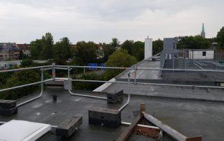 Flachdachabsturzsicherungen - STEBU Gerüstbau GmbH in Essen