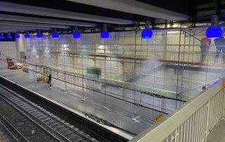 Sonderkonstruktion an Gleisen - STEBU Gerüstbau GmbH in Essen