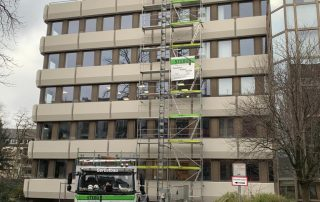 Fassadengerüste - STEBU Gerüstbau GmbH in Essen