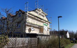 Fassadengerüste Wohnhaus - STEBU Gerüstbau GmbH in Essen