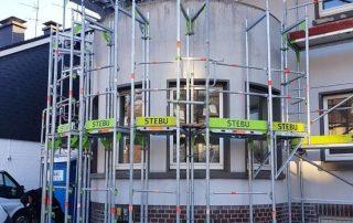 Fassadengerüste rund - STEBU Gerüstbau GmbH in Essen